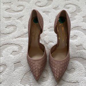 Jessica Simpson Perforated Heels